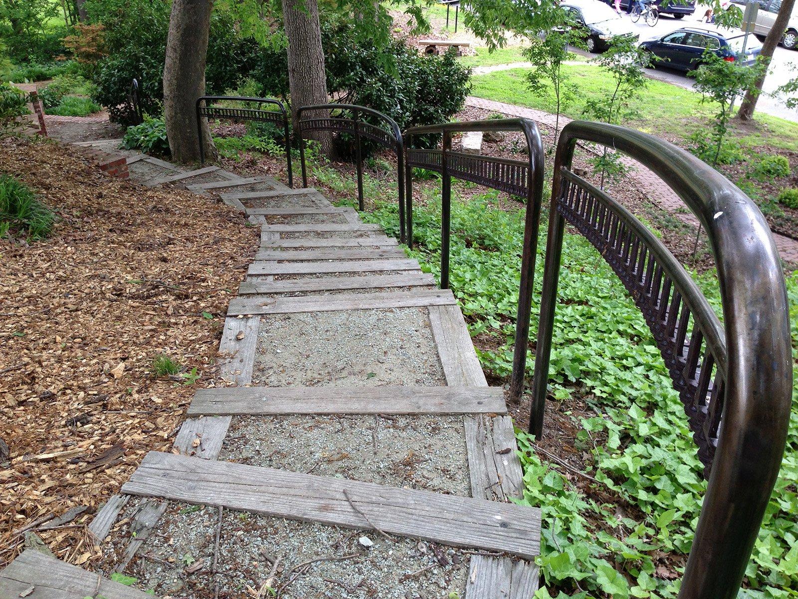 Park Story Decorative Railings Durham Central Park