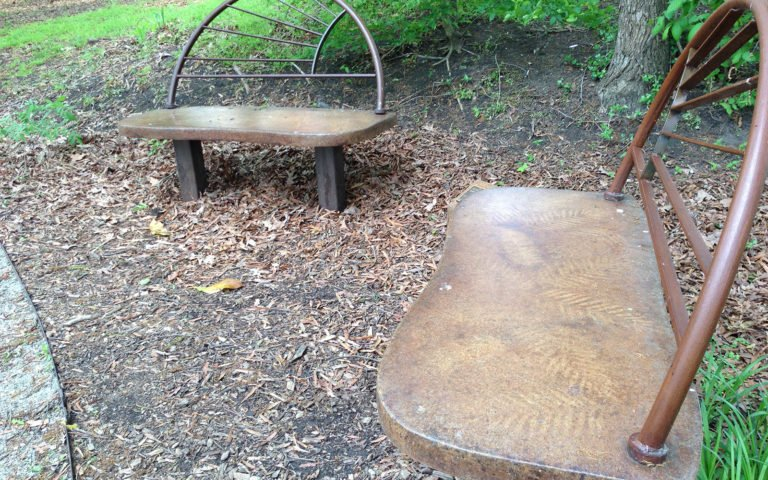 Park Story: Whisenton Benches | Durham Central Park