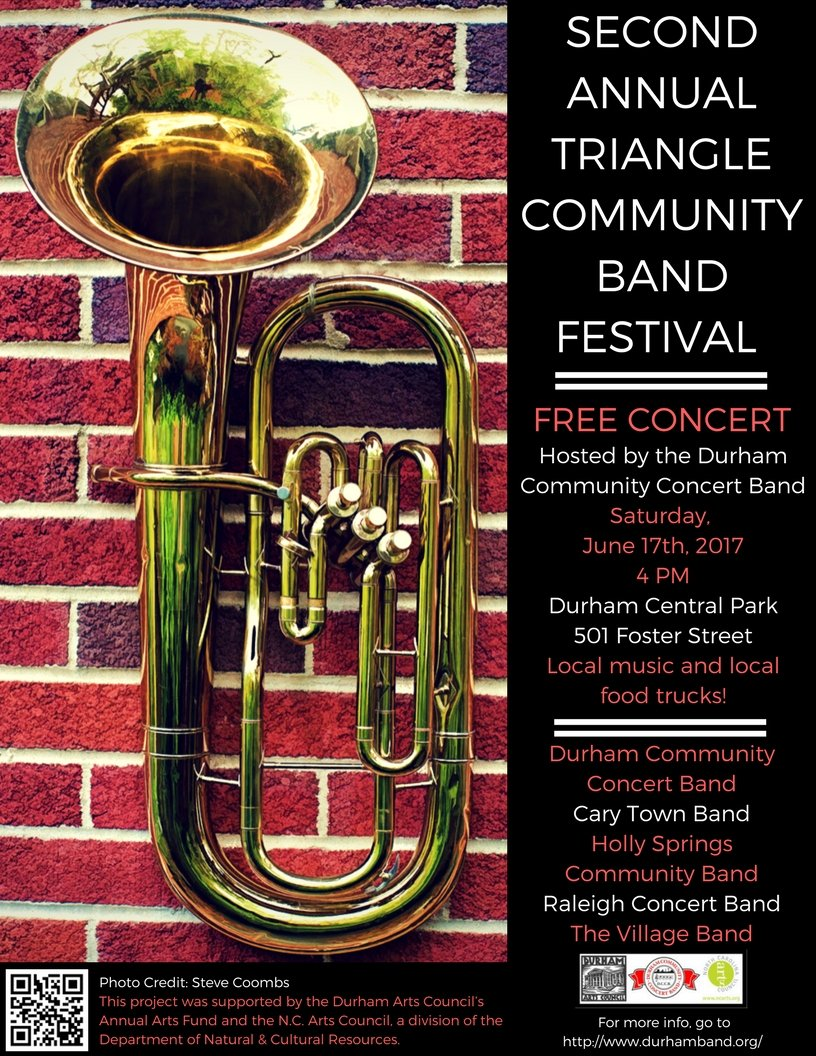 Durham Community Concert Band 2nd Annual Triangle