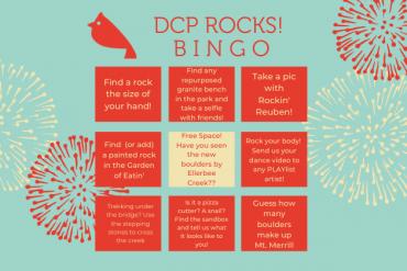 DCP Rocks Bingo!
