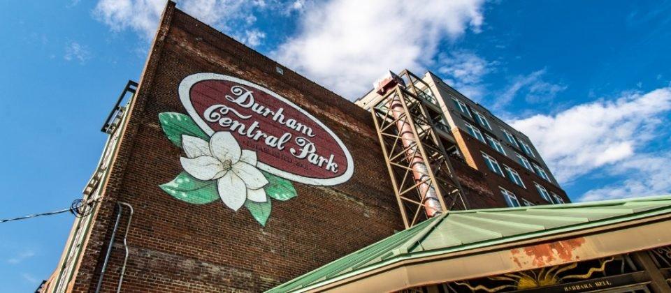 Durham Central Park Magnolia Mural