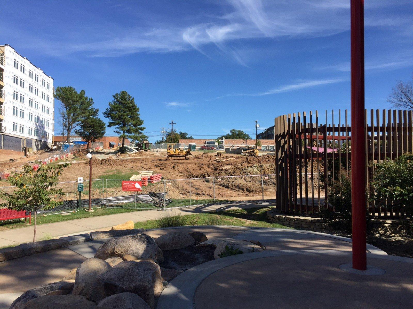 Construction Advisory Durham Central Park