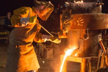 2nd annual Iron Pour presented by Liberty Arts and Durham Central Park