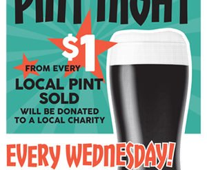 Pint Night (and day!) for DCP at The Blue Note Grill