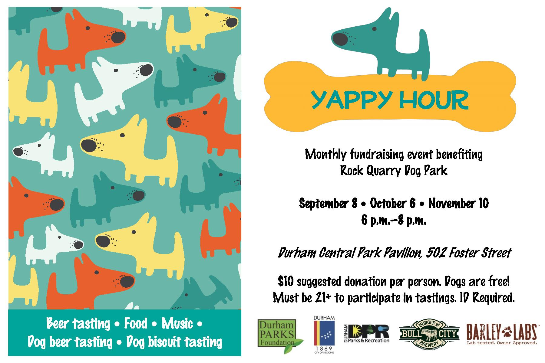 Yappy Hour Durham Central Park