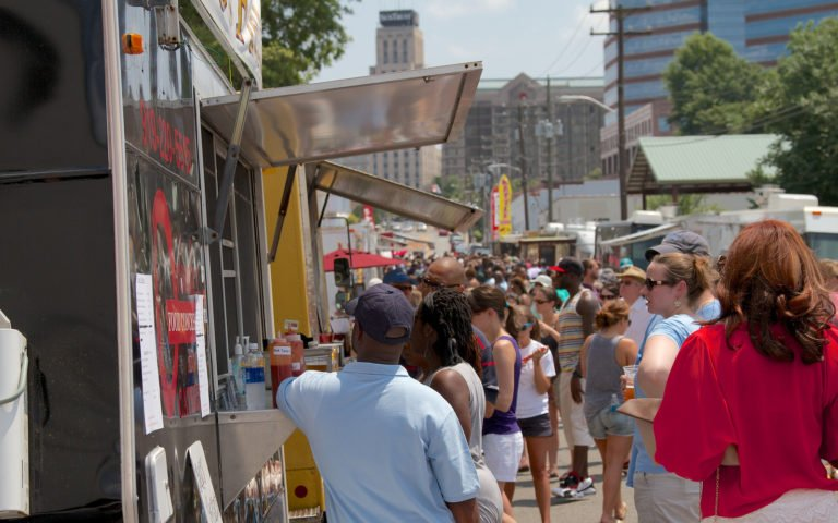 Food Truck Rodeo Durham Central Park