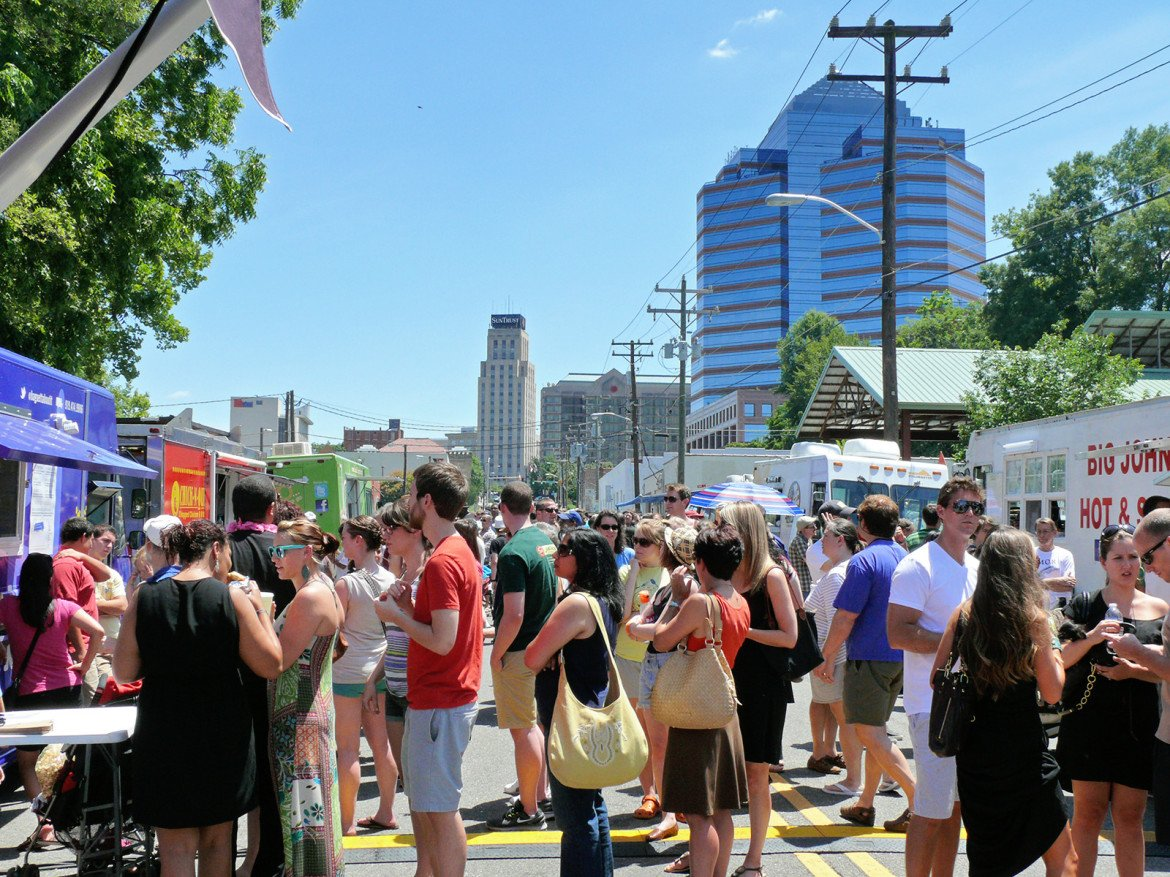 Food Truck Rodeo Info Durham Central Park